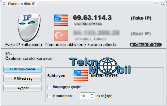 Platinum Hide IP 2012 v3 1. 9. 8 Fully Register No Need Keygenpatch. . Pla