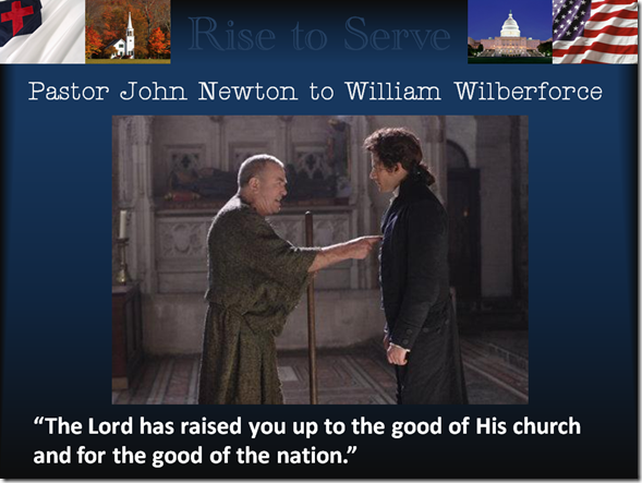 John Newton and William Wilberforce
