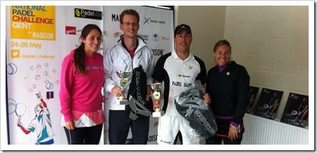 Muñoz-Ording levantan el título en el GENT OPEN, primera prueba del International Padel Challenge 2013 by Madison.