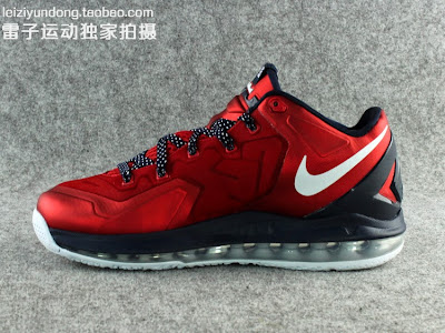nike lebron 11 low gr red black 1 09 This LeBron 11 Low Dipped in USA Colors Drops in June