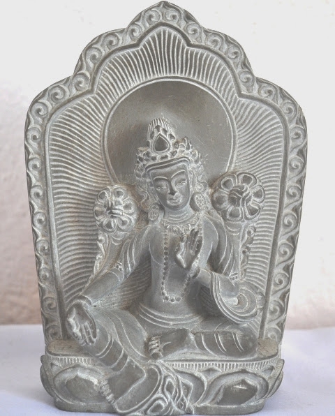 Statue of Sarswoti (Stone Carved)