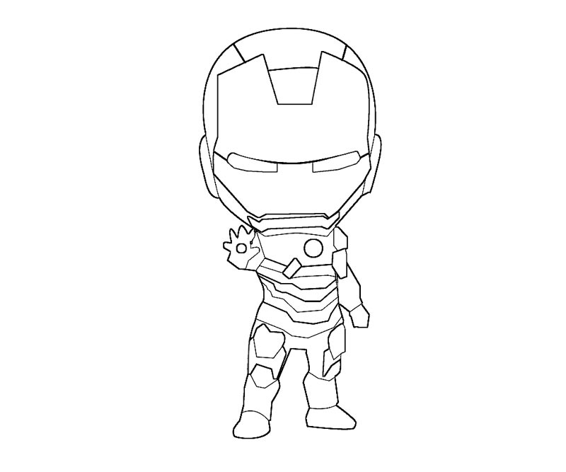 coloring pages ironman