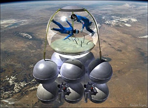 الطيران الي الفضاء