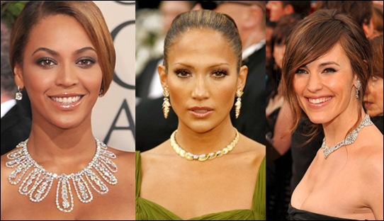 Expensive Jewelry at Oscar Award