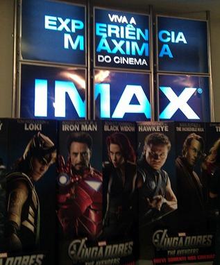 Avengers Imax new