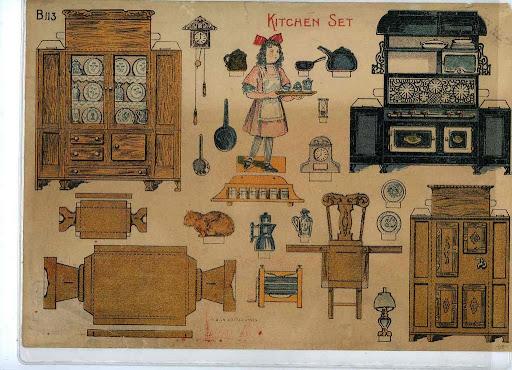 Мебель для куклы своими руками фото 274