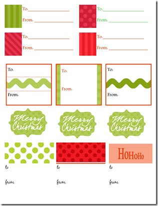 Gift Labels 3