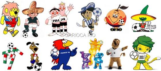 outros mascotes