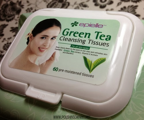 Epielle Grean Tea Cleansing Tissues
