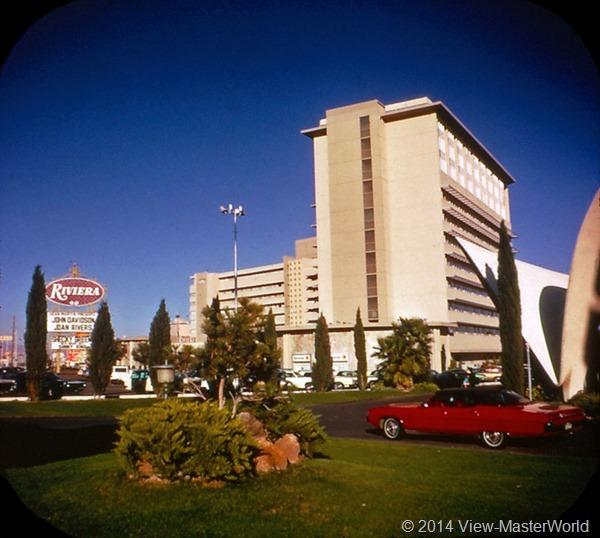 View-Master Las Vegas Nevada A159 Scene 2-2 Riviera Hotel