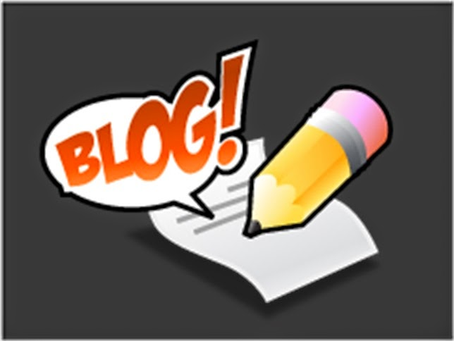 blog icon with little pencil