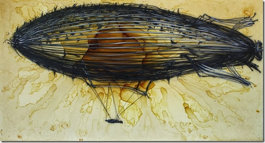 daleast-continental-climateink_-acrylic_tea-on-canvas100x200cm2013