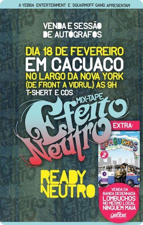 Ready Neutro X Efeito Neutro X Cacuaco