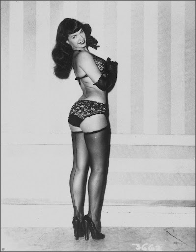 Bettie Page • Betty Mae Page