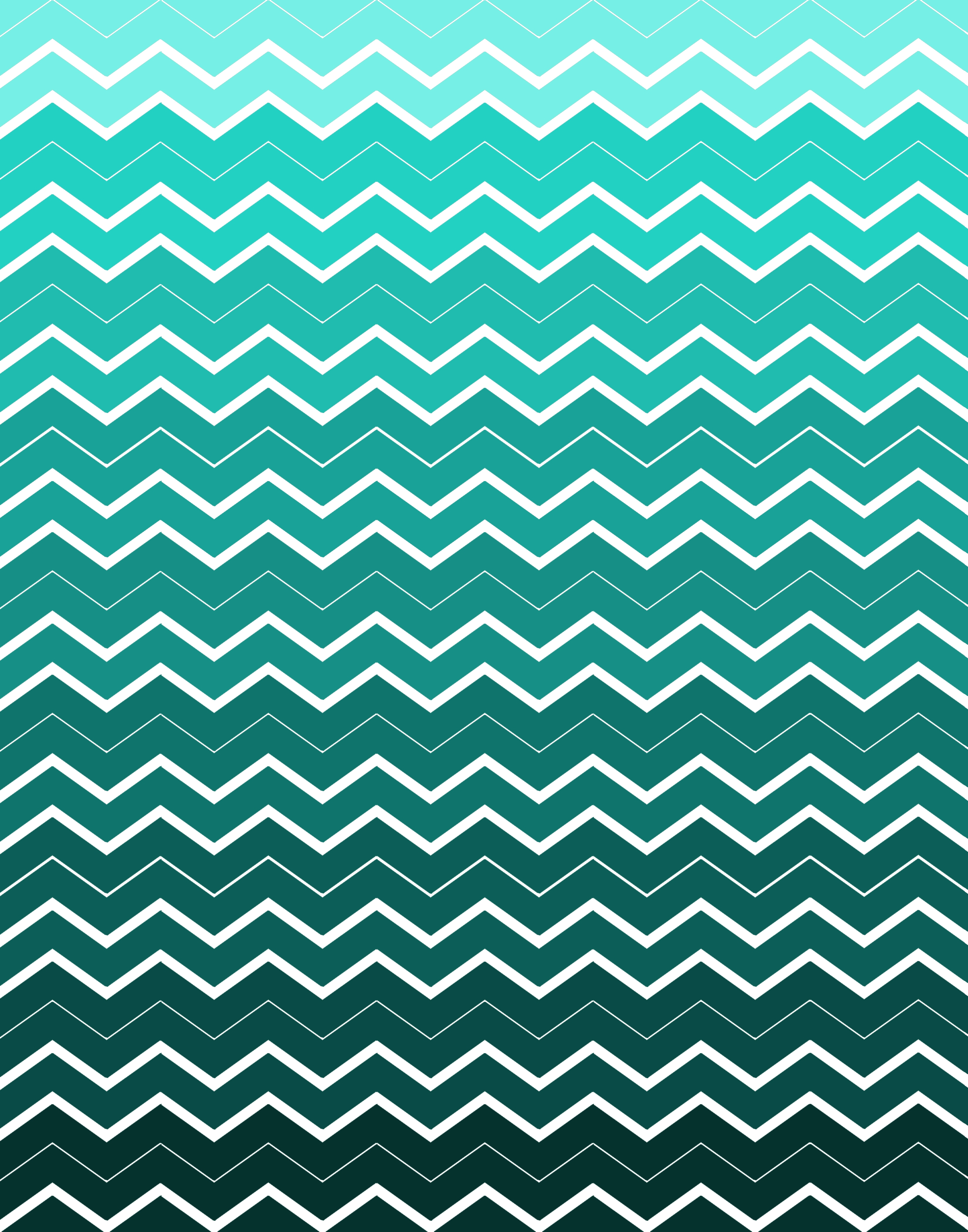 Green Ombre Chevron Background by Pauleenanne Design