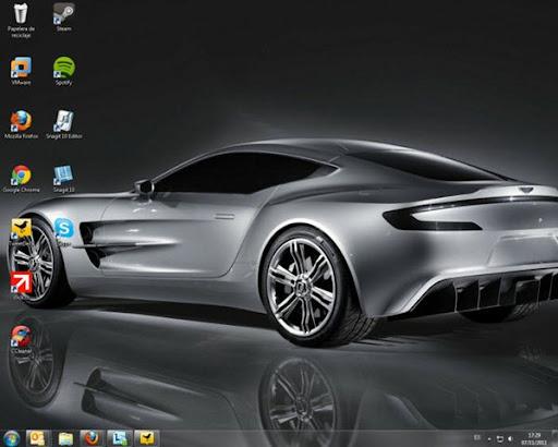 Tema de Aston Martin para Windows 7
