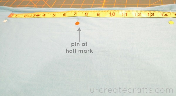 Library Skirt Tutorial Step 1b