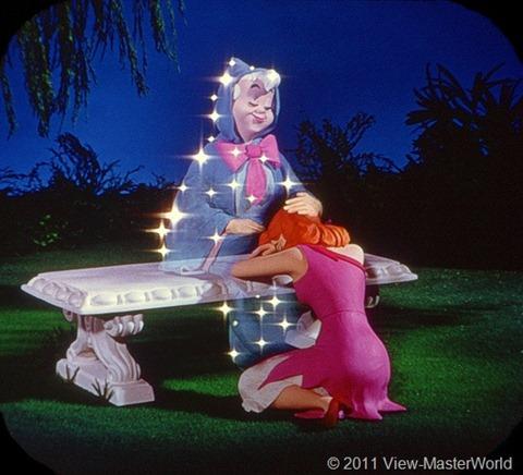 View-Master Walt Disneys Cinderella (B318), Scene 7