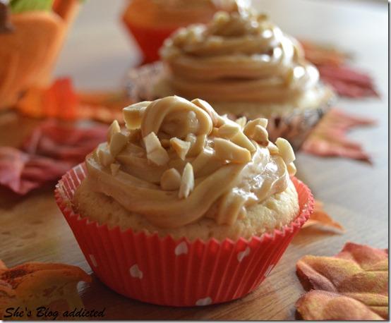 Erdnussbutter Cupcakes (45)
