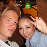 matt and yoshimi in Kabukicho, Tokyo, Japan