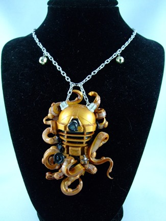 Dalek Octopus Necklace from Something Like That