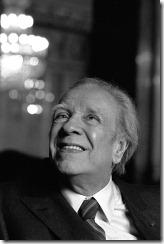 Argentinian writer JORGE LUIS BORGES, writer, Rome 1981. GRAZIA NERI / LEHTIKUVA Marcello Mencarini