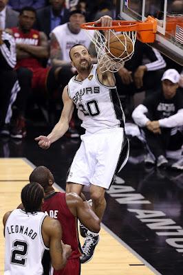wearing brons nba lebron10 prism manu ginobili 13 finals Wearing Brons: San Antonio Spurs Manu Ginobili & Danny Green