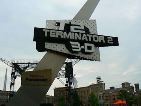 Atractii Universal Studios: Terminator 2 Adventure