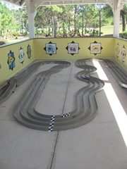 Florida Marriott Cypress Harbour kids race car area