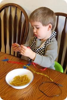 Noodle Necklaces