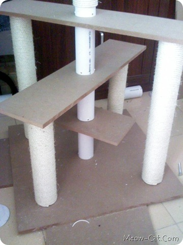 building your cat tree 8