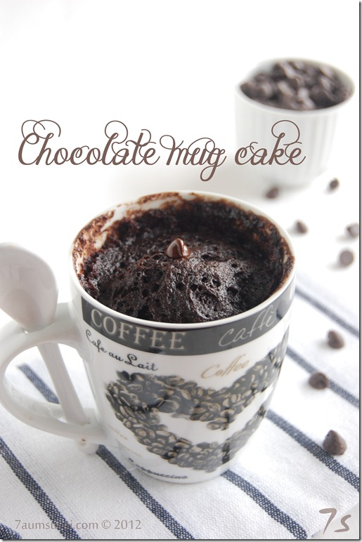 Chocolate mug cake pic1