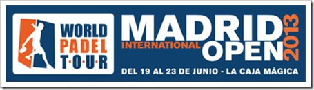 Cuadros Juego finales Madrid International Open World Padel Tour 2013.