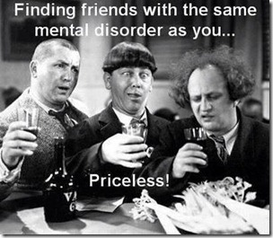 friends with mental disorders