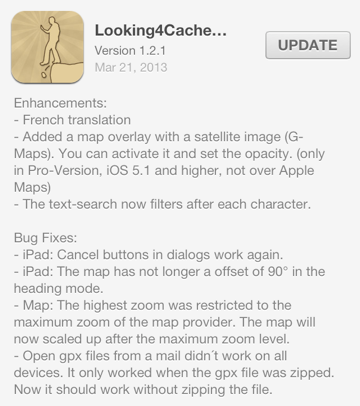 Looking4Cache version 1.2.1