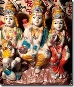 [Sita, Rama, Lakshmana and Hanuman]