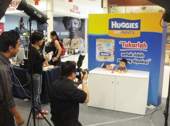 Huggies Roadshow at Mydin USJ_Photo Booth