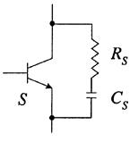 Conventional dissipating snubber circuits