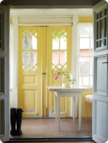 yellow door 1