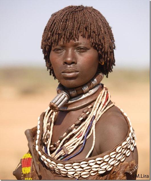 Представляем Вашему вниманию подборку фото красивых девушек диких племен Аф