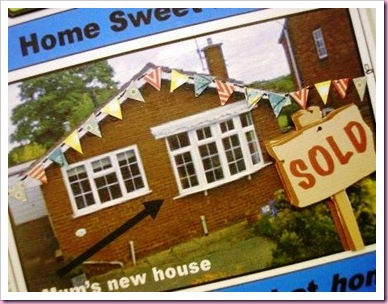 New Home Newspaper Card