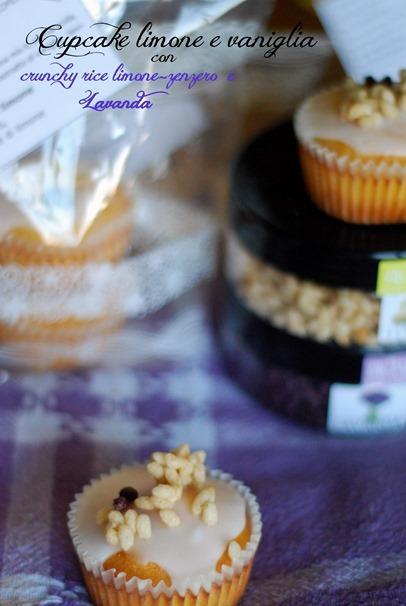 cupcake limone e vaniglia