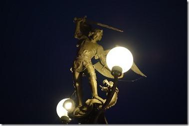 St. Michielsbrug 聖ミヒエル像(街灯)
