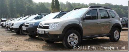 Dacia Duster meeting Kassel 2011 08