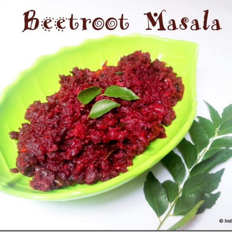 Beetroot Masala Recipe