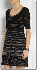 M Missoni Crochet Cotton Knit Dress