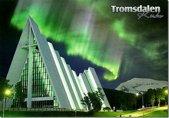 Tromsdalen Kirke a.k.a. The Arctic Ocean Cathedral (Norway)