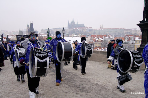 Прага, карнавал