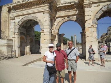 Ephesus library arches