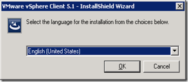 33_vSphere Client 5.1 Installation
